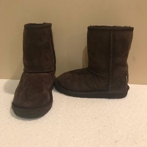 UGG Shoes - Girls Toddler Classic Brown Uggs Sz 11
